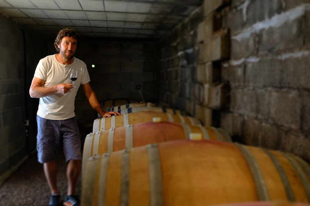 Jerome-Vaille-vigneron-bio Mas de Clanny