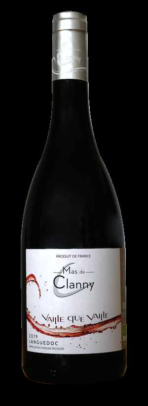 vin AOP Languedoc rouge vaille que vaille 2019